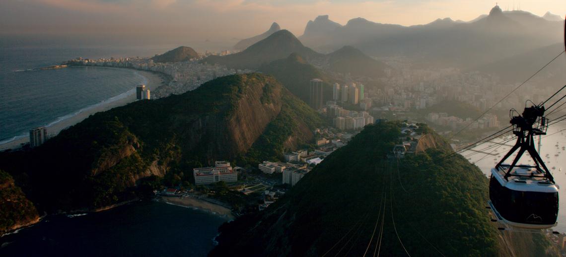 Birds Eye View of Rio de Janeiro Bird's Eye View of Rio de
